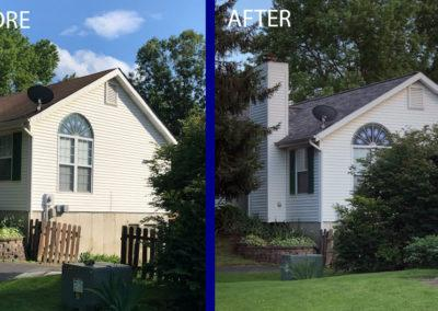 Roof replacement after storm