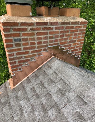 CJS Roofing Chimney Copper