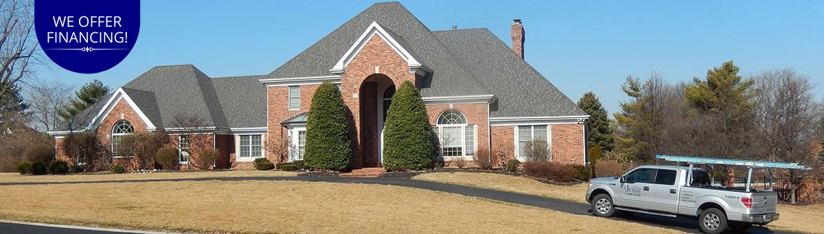 CJS Roofing St. Louis - We offer financing